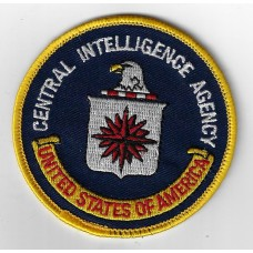 United States Central Intelligence Agency Cloth Patch