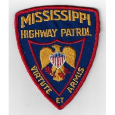 United States Mississippi Highway Patrol Cloth Patch