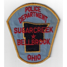 United States Sugarcreek Bellbrook Ohio Police Department Cloth Patch