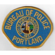 United States Portland Bureau of Police Cloth Patch