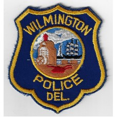 United States Wilmington Police Delaware Cloth Patch