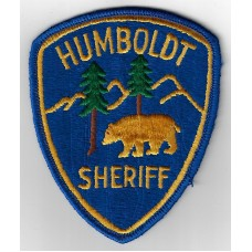 United States Humboldt Sheriff Cloth Patch