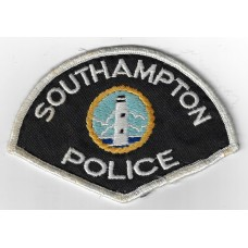 United States Southampton Police Cloth Patch