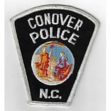 United States Conover N.C. Police Cloth Patch