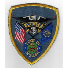 United States Indiana Police Cloth Patch