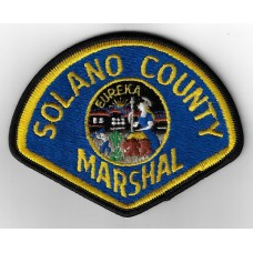United States Solano County Marshal Cloth Patch