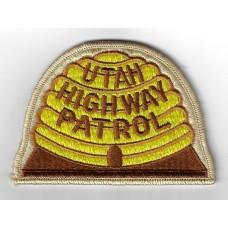 United States Utah Highway Patrol Cloth Patch