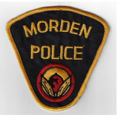 Canadian Morden Police Cloth Patch