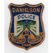 United States Danielson Connecticut Police Cloth Patch