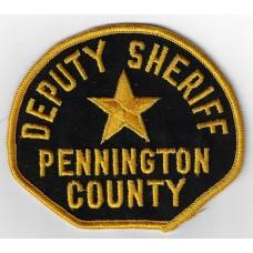 United States Pennington County Deputy Sheriff Cloth Patch