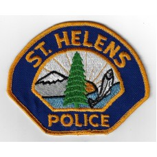 United States St Helens Police Cloth Patch