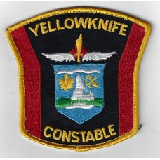 Canadian Yellowknife Constable Cloth Patch