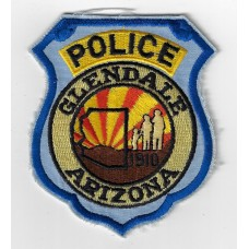 United States Glendale Arizona Police Cloth Patch