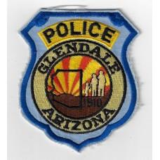 United States Glendale Arizona Police Cloth Patch