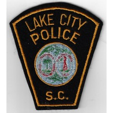 United States Lake City Police S.C. Cloth Patch