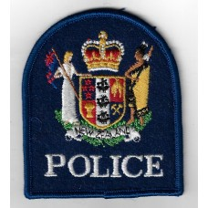 New Zealand Police Cloth Patch
