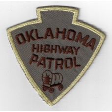 United States Oklahoma Highway Patrol Cloth Patch