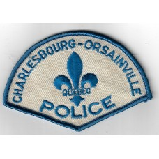 Canadian Charlesbourg Orsainville Quebec Police Cloth Patch