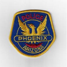 United States Phoenix Arizona Police Cloth Patch