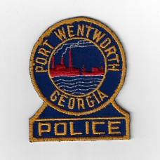 United States Port Wentworth Georgia Police Cloth Patch