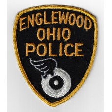 United States Englewood Ohio Police Cloth Patch