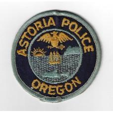 United States Astoria Police Oregon Cloth Patch