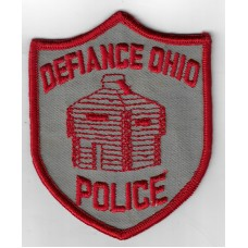United States Defiance Ohio Police Cloth Patch