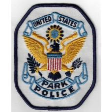 United States Park Police Cloth Patch