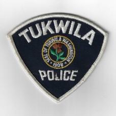 United States Tukwila Police Washington Cloth Patch