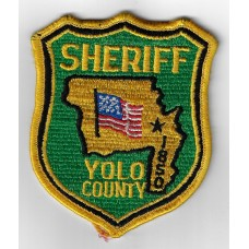 United States Yolo County Sheriff's Cloth Patch