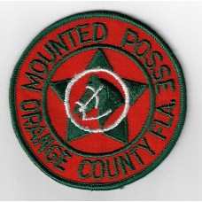United States Orange County Florida Mounted Posse Cloth Patch