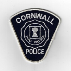 Canadian Cornwall Police Cloth Patch