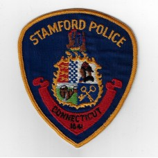 United States Stamford Police Connecticut Cloth Patch