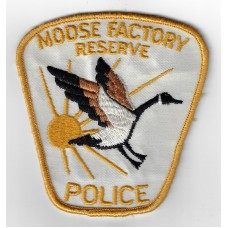 Canadian Moose Factory Reserve Police Cloth Patch