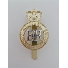 Royal Military School Anodised (Staybrite) Cap Badge