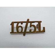 16th / 5th Queen's Lancers (16/5L) Shoulder Title