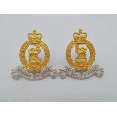 Pair of Adjutant General Corps Officers Dress Collar Badges