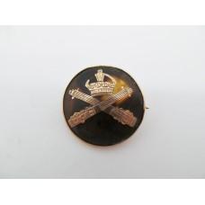 Machine Gun Corps 1917 Hallmarked 9ct Gold and Tortoise Shell Sweetheart Brooch