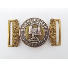 Victorian Dorsetshire Regiment Officers Waist Belt Clasp (Post 1881)