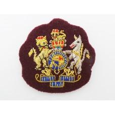 Royal Army Medical Corps (R.A.M.C.) W.O.1's Bullion Mess Dress Rank Badge