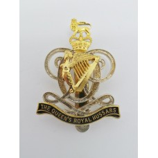 Queen's Royal Hussars Cap Badge - Queen's Crown