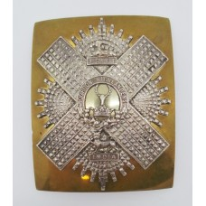 Gordon Highlanders Officer's Cross Belt Plate