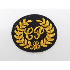 Military Police Close Protection (C.P.) Bullion Trade Badge