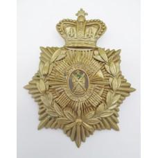 Victorian 5th Volunteer Bn. Royal Scots Helmet Plate