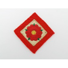 42nd (Lancashire) Division Cloth Embroidered Formation Sign