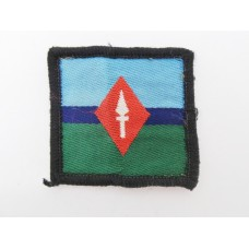 1 Corps Royal Signals Cloth Formation Sign