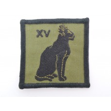 15 Signal Regiment Royal Signals Cloth Formation Sign