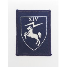 14 Signal Regiment Royal Signals Cloth Formation Sign