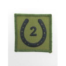 2 Signal Group Royal Signals Cloth Formation Sign (Combat)