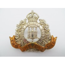 Edward VII Suffolk Regiment Cap Badge